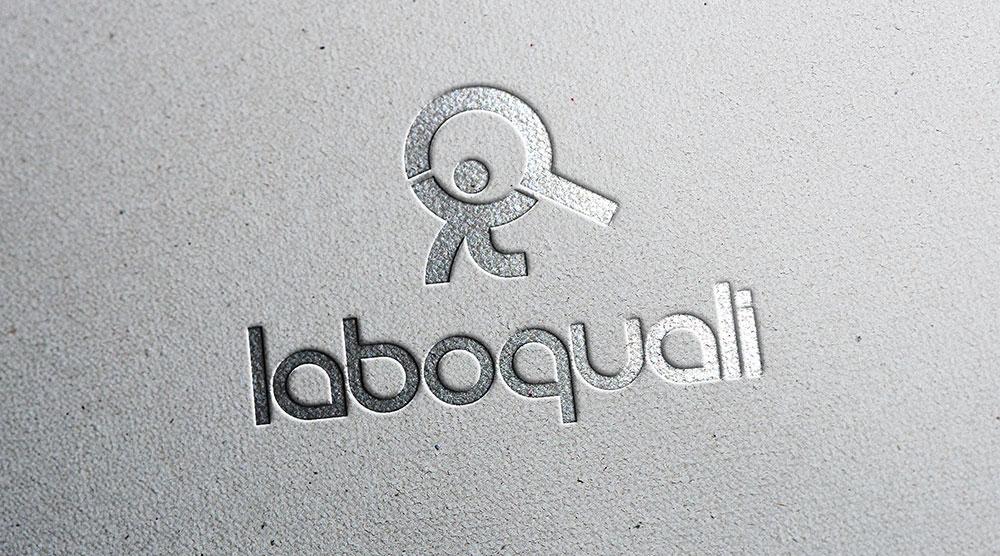 création logo, laboquali, graphiste